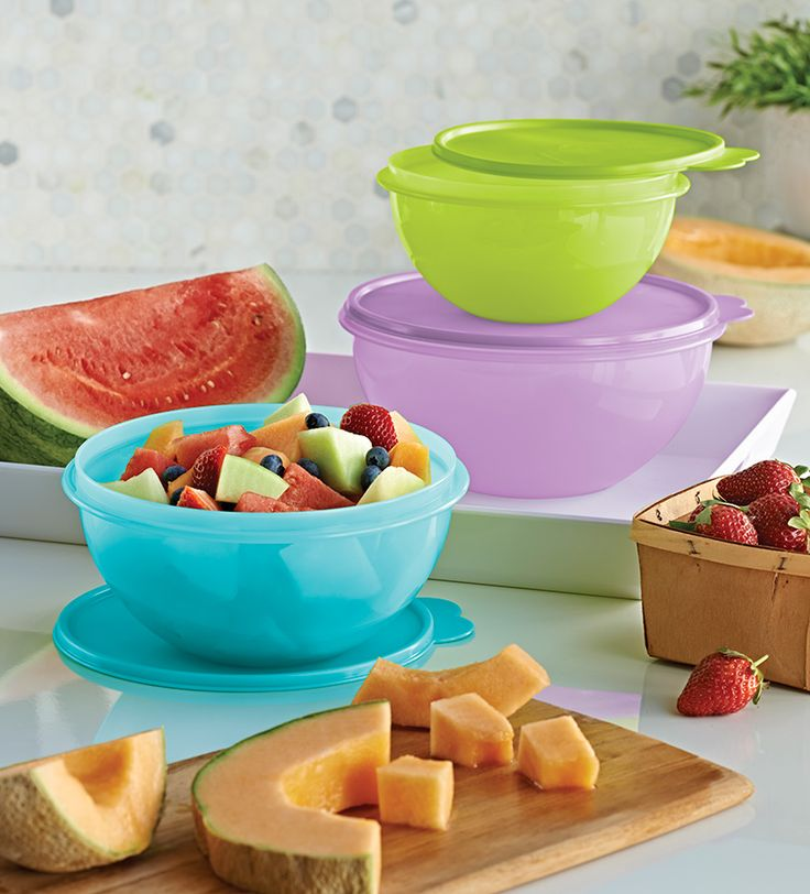 Tuppers para Frutas