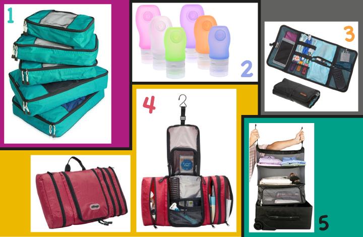 Mis 5 Productos de Organización Favoritos para Viajes